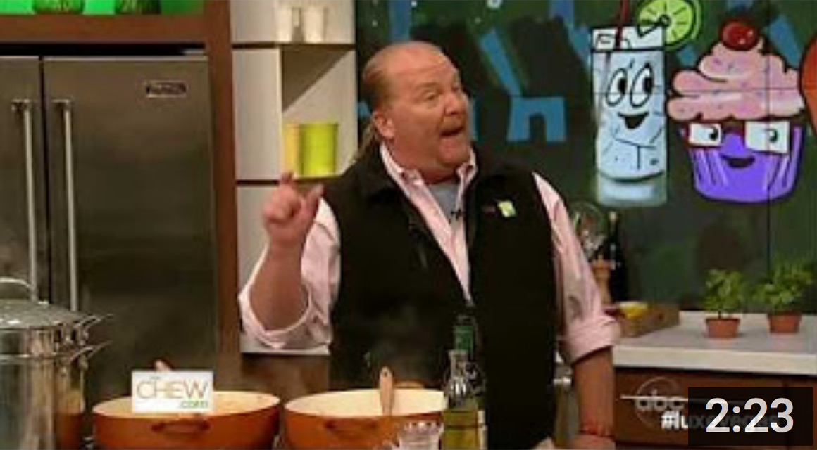 Interview With Superstar Chef Mario Batali (#LUXEVEGAS)